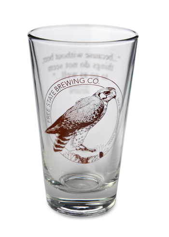 Single Color Pub Glass