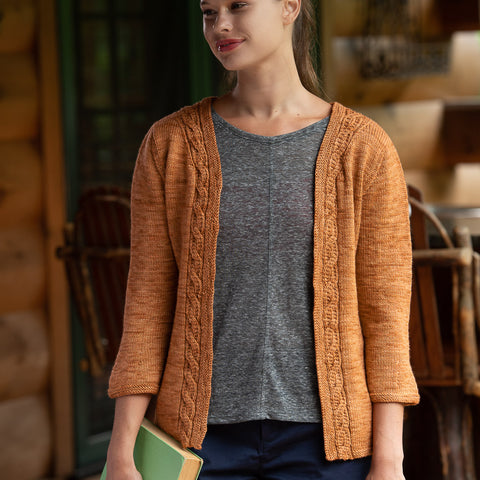 Morning Tea Cardigan by Laura Chau