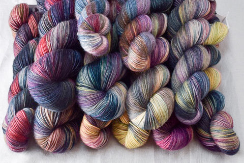 """Gypsy Soul"" Wild Iris on yarn"