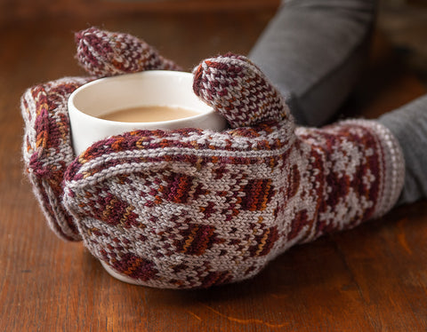 Acorn Mittens by Tanis Gray