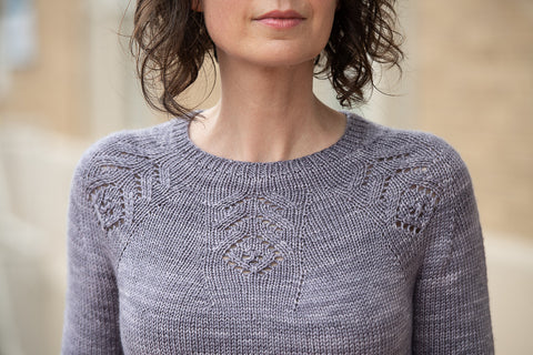 Feather Pullover by Melissa LaBarre