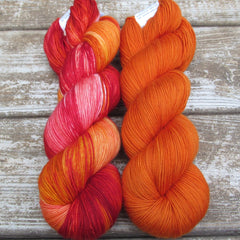Fire Ball and French Marigold Keira
