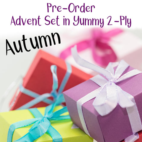 Advent Yarn Set - Autumn - PRE-ORDER ships by November 22, 2019