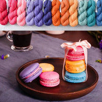 Macarons - Great British Baking Shawl Set