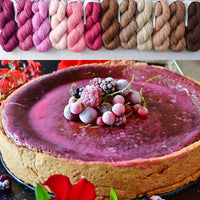 Berry Cheesecake - Great British Baking Shawl Set