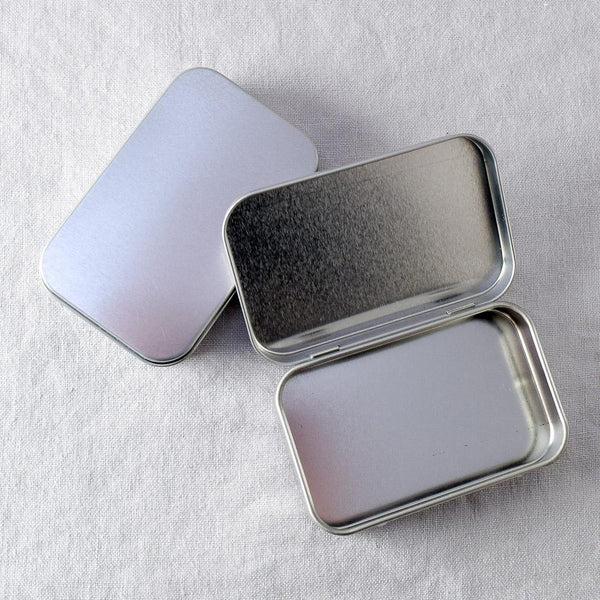 Hinged Rectangular Tin - Medium