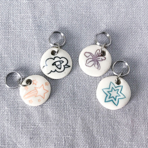 Jennie the Potter Stitch Markers - Assorted