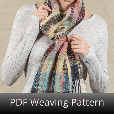 Spring Polydactyl Scarf - PDF Weaving Pattern