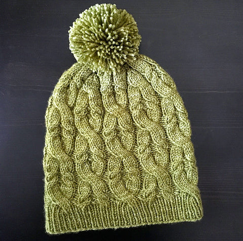 Sultana Cabled Hat - Miss Babs Project