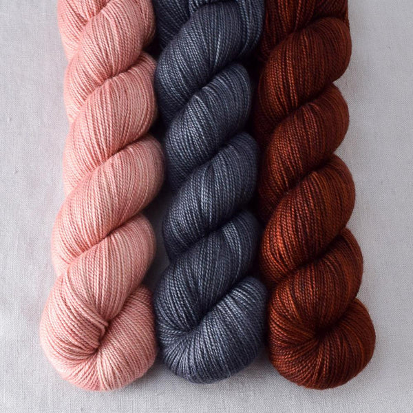Adobe, Pewter, Russet - Miss Babs Yummy Trio