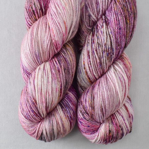 Autumn Toad Lily - SAFF 2020 - Miss Babs Big Silk yarn