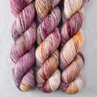Autumn Toad Lily - SAFF 2021 - Miss Babs Yummy 2-Ply yarn