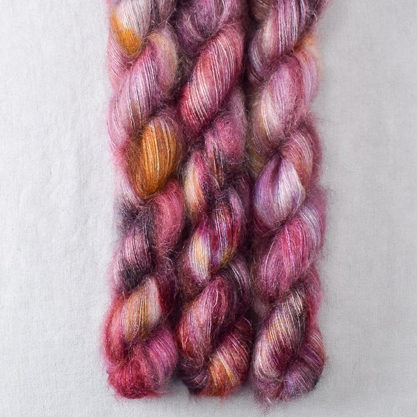 Autumn Toad Lily - SAFF 2022 - Miss Babs Moonglow yarn