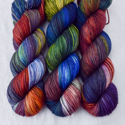 Bat S**t Crazy - Miss Babs Yummy 3-Ply yarn