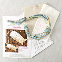 Beach Bag Embroidery Kit - Miss Babs Notions