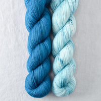 Be At Peace, Sea Teal - Miss Babs 2-Ply Duo