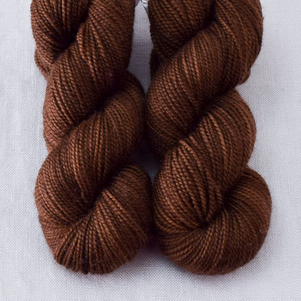 Bittersweet Chocolate - Miss Babs 2-Ply Toes yarn