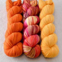 Bloomin Pansies, French Marigold, Lemon Amber - Miss Babs Yummy Trio