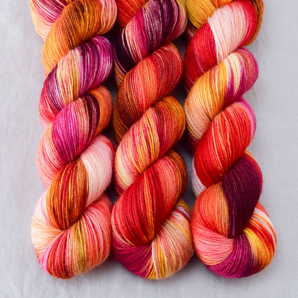 Bloomin Pansies - Miss Babs Northumbria Fingering Yarn