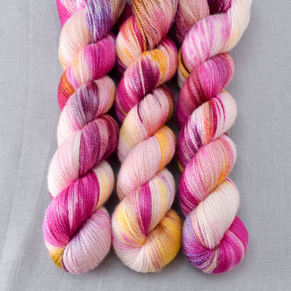 Bloomin Pansies - Miss Babs Yet yarn