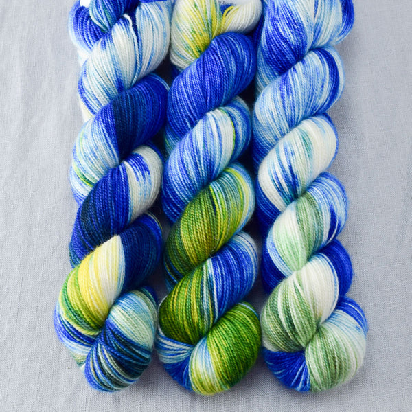 Bluebonnets - Miss Babs Yummy 2-Ply yarn