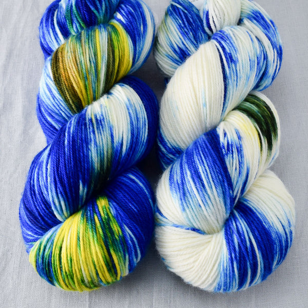 Bluebonnets - Miss Babs Yowza yarn