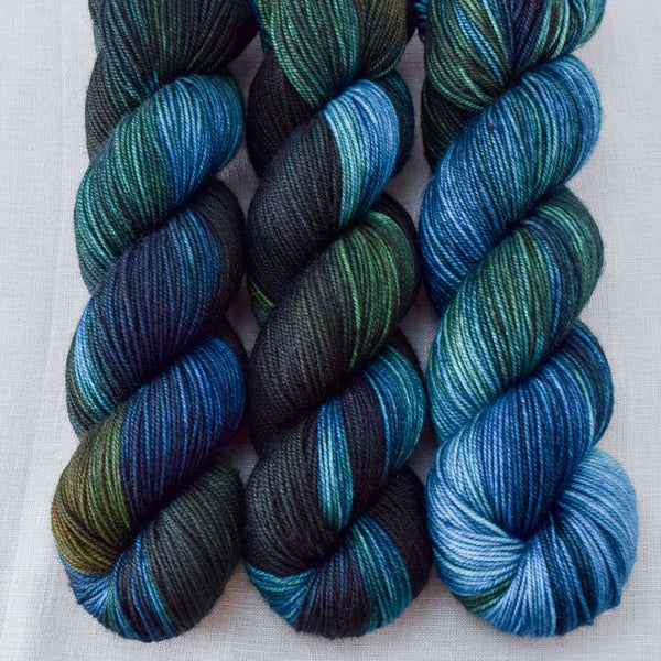 Blue Dasher - Miss Babs Yummy 3-Ply yarn