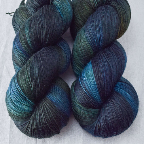 Blue Dasher - Miss Babs Katahdin yarn