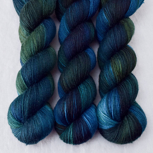 Blue Dasher - Miss Babs Northumbria Fingering yarn