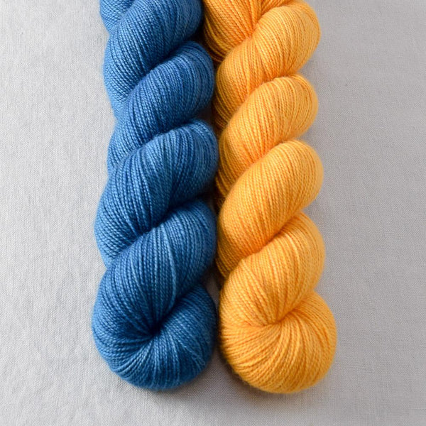 Blue Moon, Month of Sundays - Miss Babs 2-Ply Duo