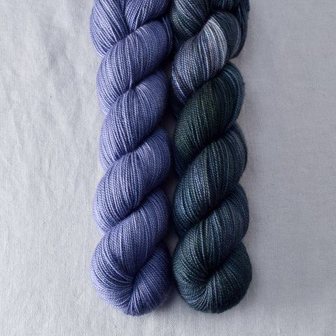 Blue Mussel, Into the Void - Miss Babs 2-Ply Duo