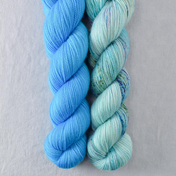 Blue Savannah, Brilliant - Miss Babs 2-Ply Duo