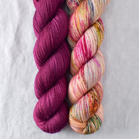 Bougainvillea, Spring Flowers - Miss Babs 2-Ply Duo