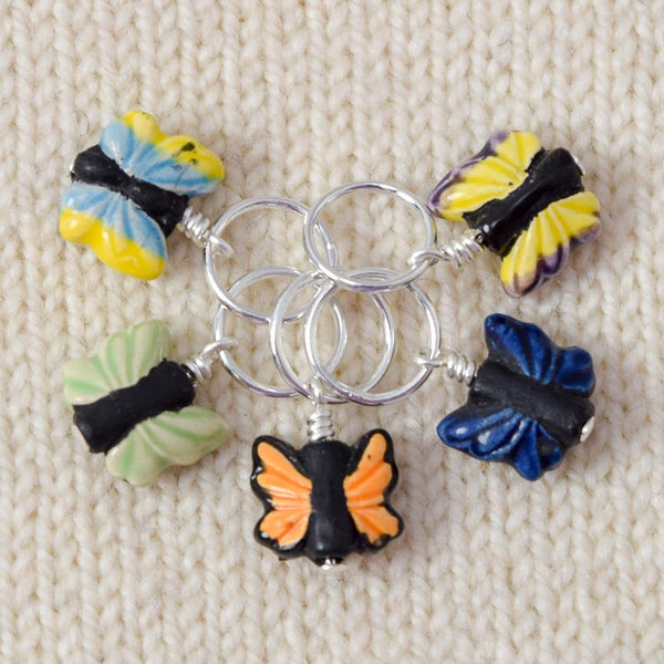 Butterflies - Miss Babs Stitch Markers