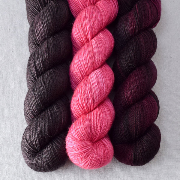 Cacao, Dark Fury, Sweet Pea - Miss Babs Yummy Trio