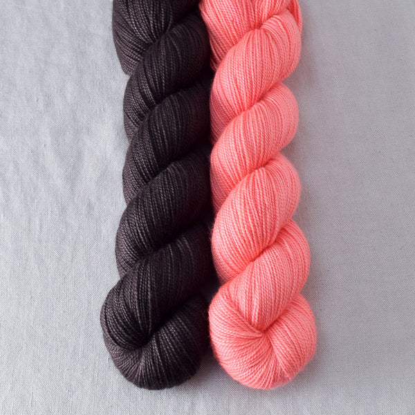 Cacao, Pink Grapefruit - Miss Babs 2-Ply Duo