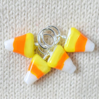 Candy Corn Stitch Markers - Miss Babs Stitch Markers