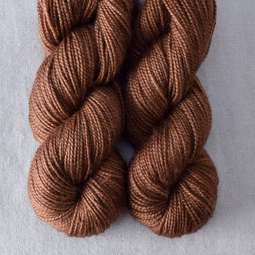Chocolate - Miss Babs 2-Ply Toes yarn