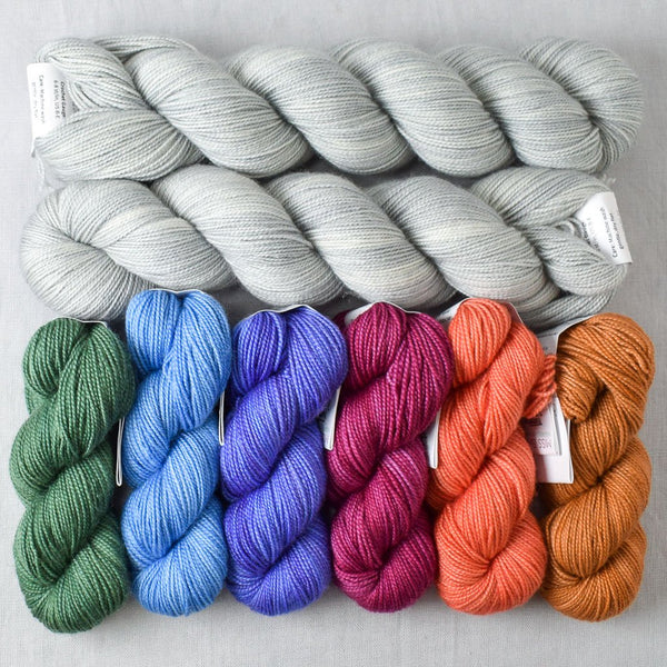 Coastal Highway Gradient and Frozen Yummy 2-Ply - Miss Babs Gradient Set