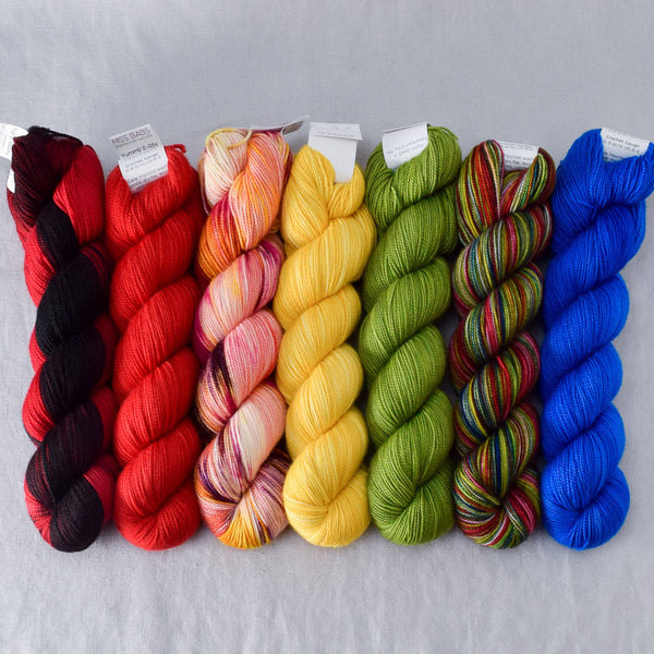 Comical - Miss Babs Yummy 2-Ply Fade Set