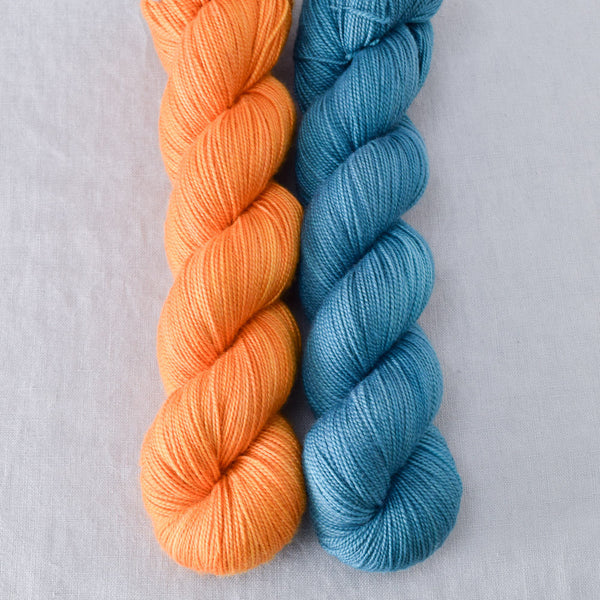Coos Bay, Saffron - Miss Babs 2-Ply Duo