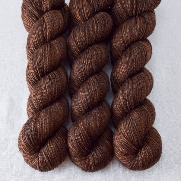Dark Chocolate - Miss Babs Yummy 2-Ply  yarn