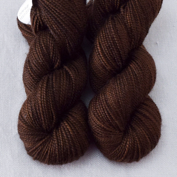 Dark Chocolate - Miss Babs 2-Ply Toes yarn
