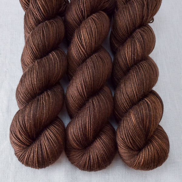Dark Chocolate - Miss Babs Yummy 3-Ply  yarn