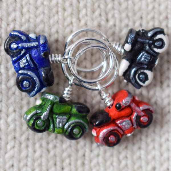 Dark Motorcycles - Miss Babs Stitch Markers