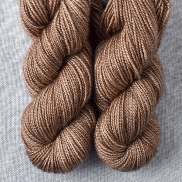 Dark Parchment - Miss Babs 2-Ply Toes yarn