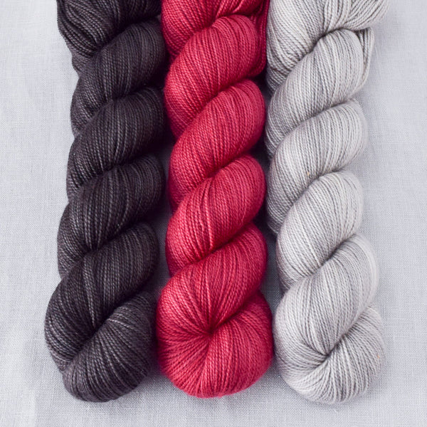 Dark Pegasus, Oyster, Ruby Spinel - Miss Babs Yummy Trio