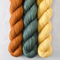 Dark Roast, Dunk, Embossed - Miss Babs Yummy 3-Ply Trio