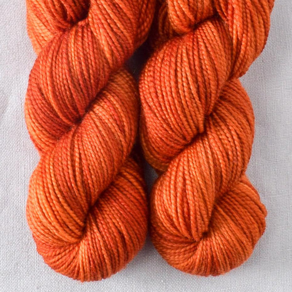 Decadent Red - Miss Babs 2-Ply Toes yarn