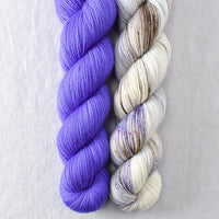 Decoder Ring, Gentian - Miss Babs 2-Ply Duo